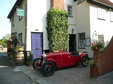 Essex Tea Shop - Vintage Car Rally